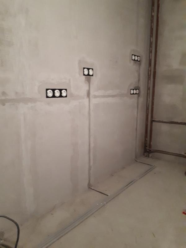 замена старой проводки в панельном доме